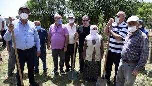 Fethiye Belediyesi'nin 'Bizim Bahçe' projesi başladı