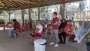 Kan ve kök hücre bağışına Datça'dan destek