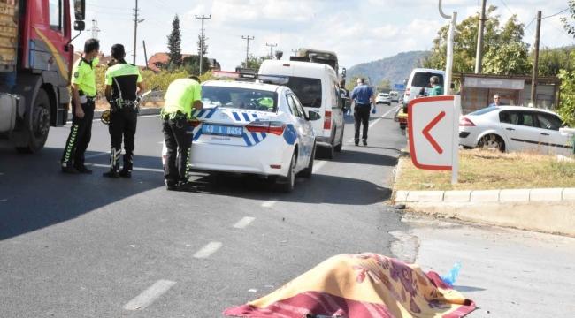 Köyceğiz'de trafik kazası: 1 ölü